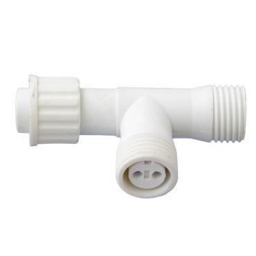 T connector Peak Light 2-set - wit