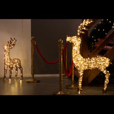Delux staand rendier 400 LEDs