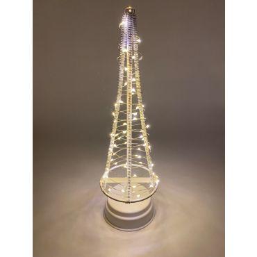 Santa's Tree 60 LEDS 32.5 cm wit