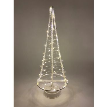 Santa's Tree 85 LEDS 42.5 cm wit