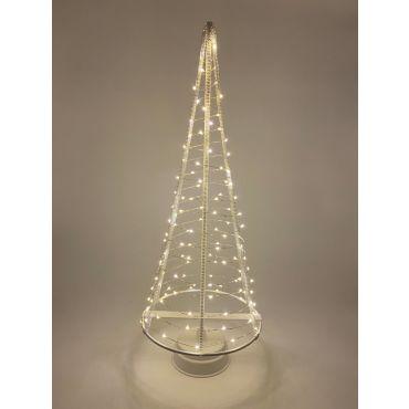 Santa's Tree 120 LEDS 51 cm wit