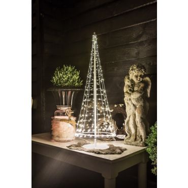 Santa's Tree 250 LEDS 100 cm zwart