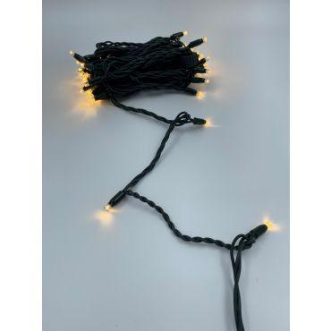 10M, 60L light chain IP67, dark green, 31V system, 3.5W lampjes brandend warm wit