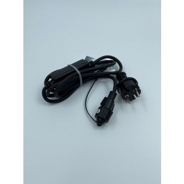 Winglings Gold power cable zwart